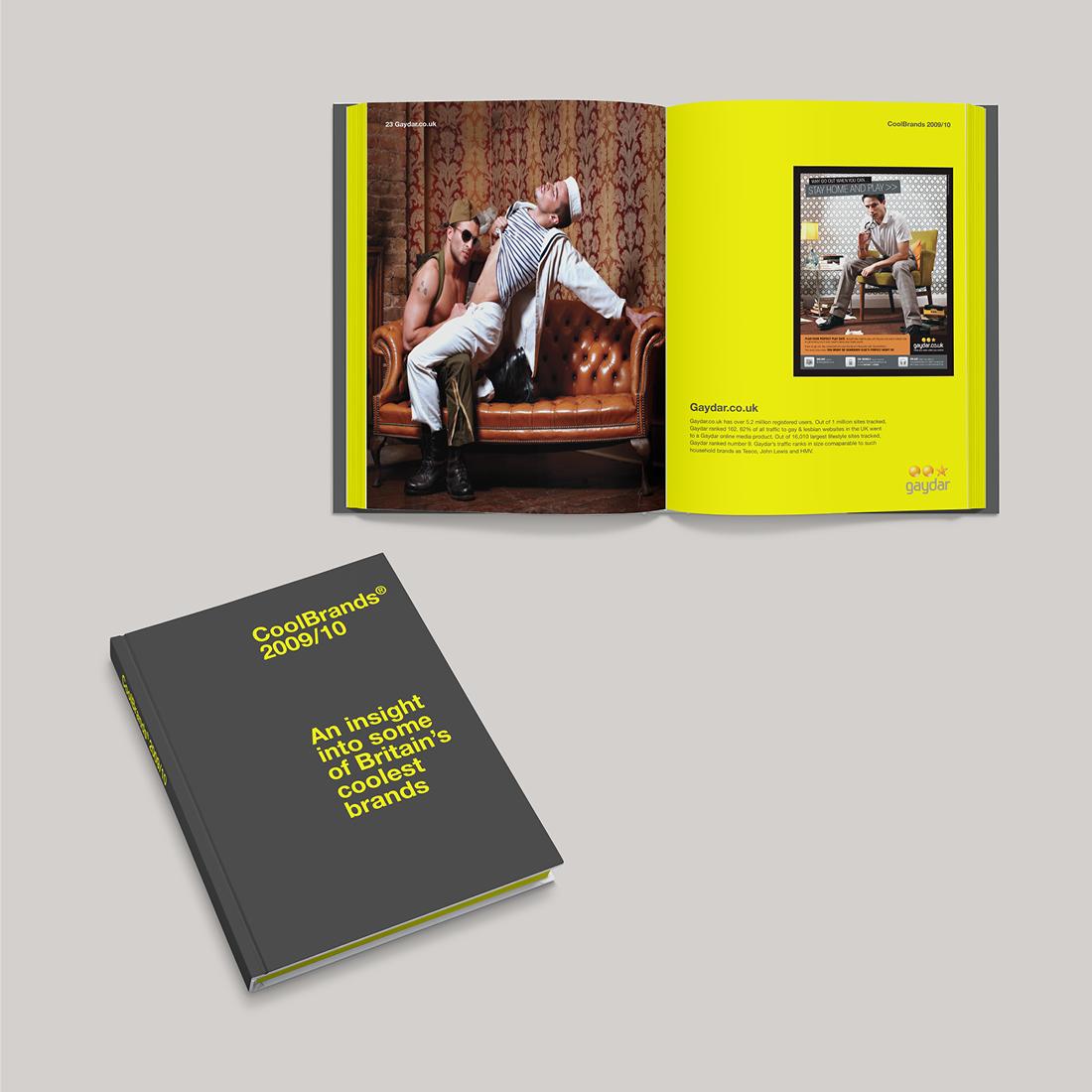 Gaydar CoolBrands Book
