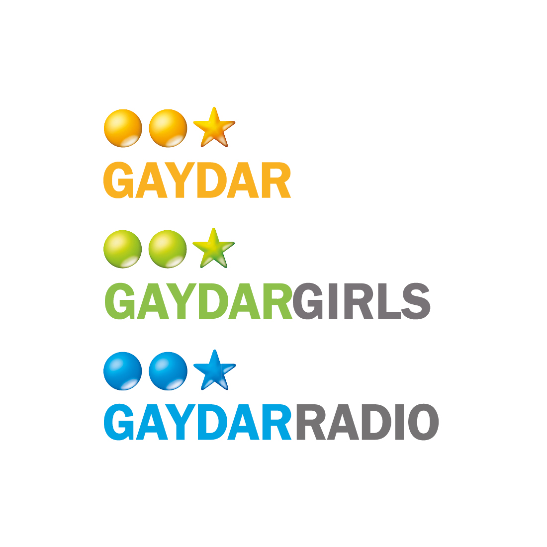 Gaydar Brand Logos