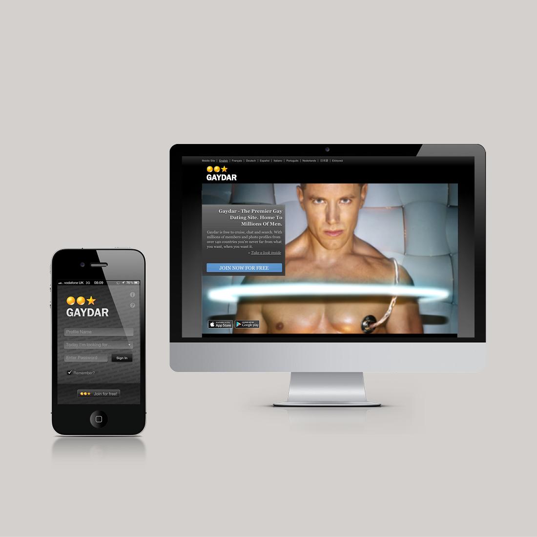 Gaydar Website and App