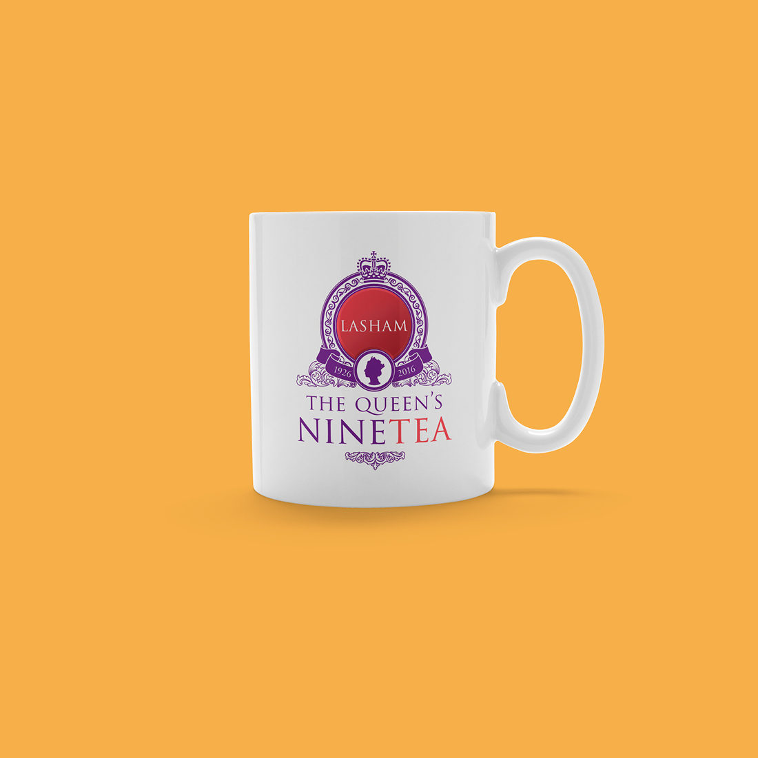 Queen's 90th Birthday Mug