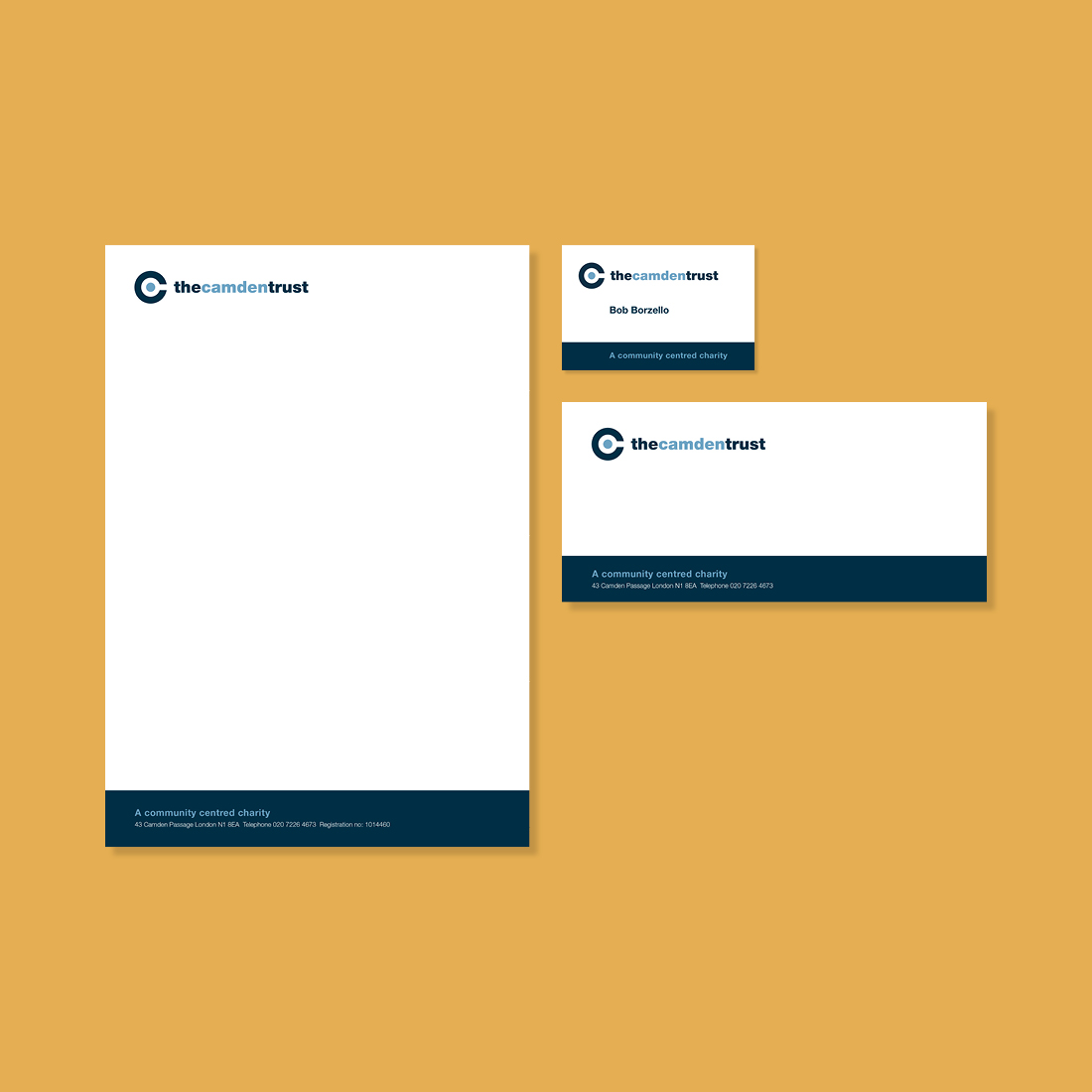 The Camden Trust Stationery