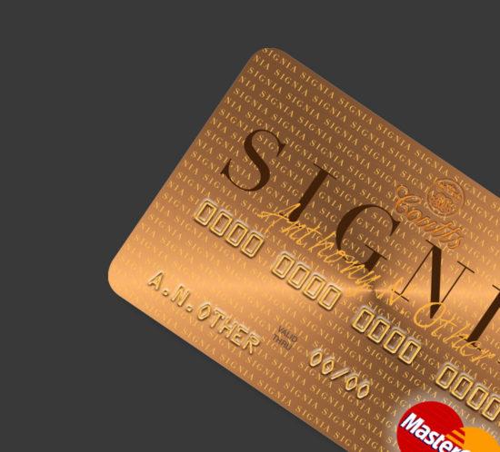 Signia Credit Card