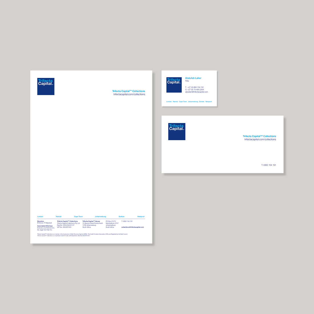 Trifecta Capital Stationery
